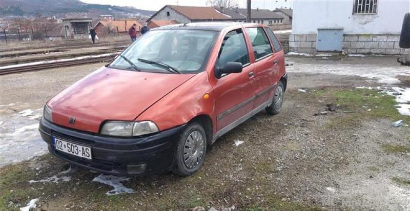 Fiat Punto 1.2 benzin rks i skaduar