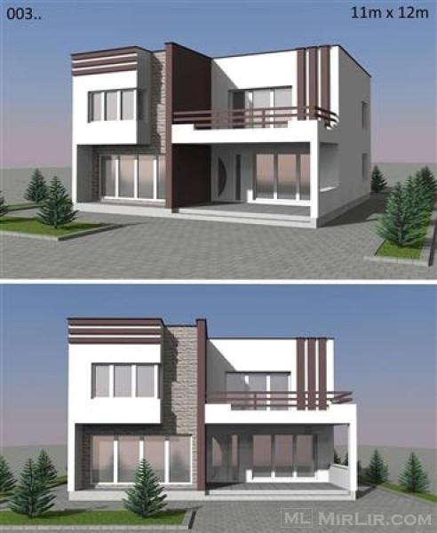 Plane per shtepi 3d