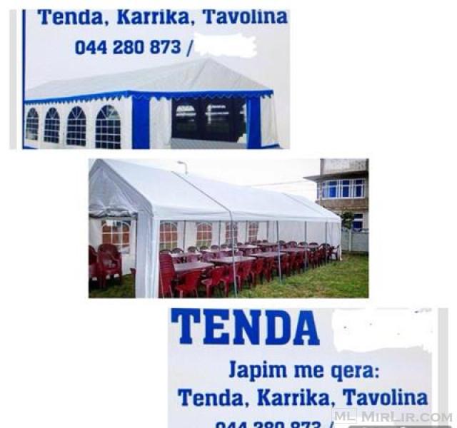 TENDA SHATROA KARRIKA TAVOLINA ME QERA 044280873