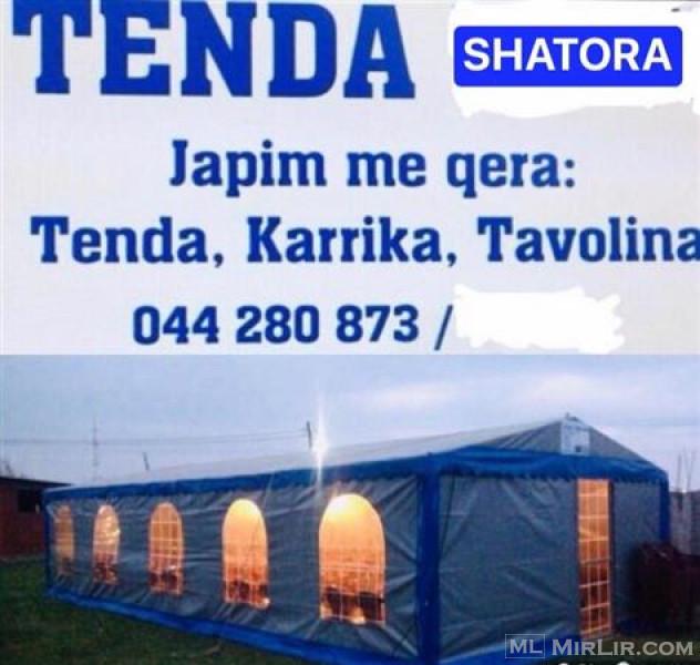 TENDA&SHATORA KARRIKA TAVOLINA ME QERA 044280873