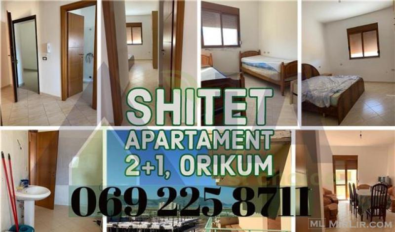 Shitet apartament 2+1 ne Orikum