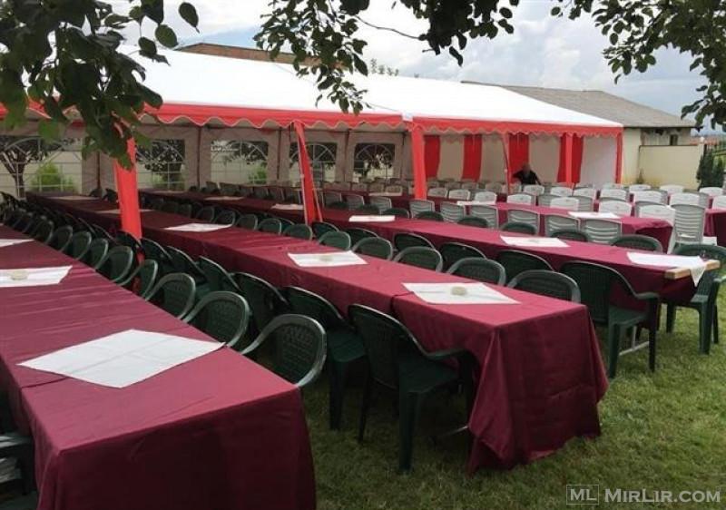 tenda shatora karrika tavolina me qera 044904994
